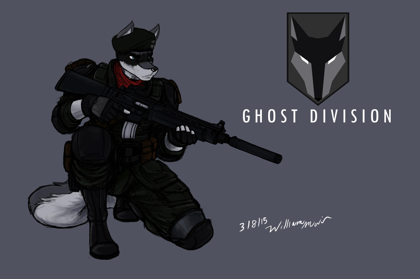 Ghost Division - past by WMDiscovery93