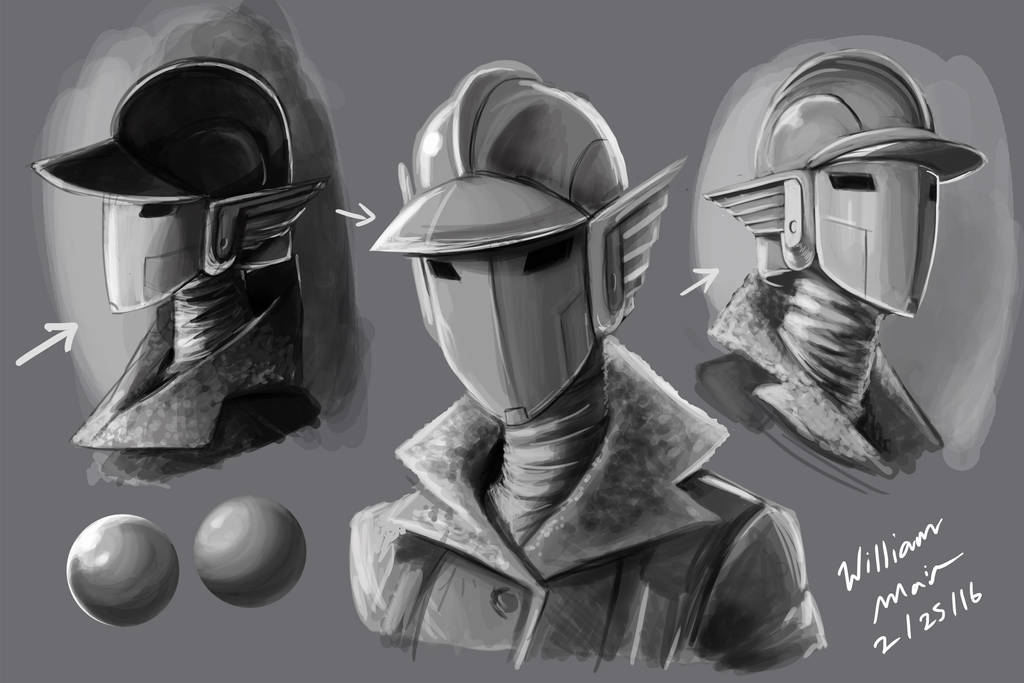 Grayscale studies by WMDiscovery93