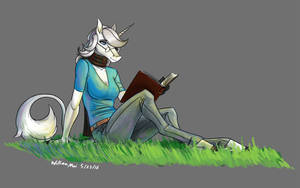 Audrey reading by WMDiscovery93
