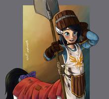 'Little Farmer Knight' by WMDiscovery93