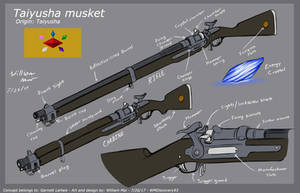 [C] 'Taiyusha Musket' - Concept design by WMDiscovery93