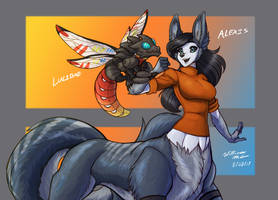 Alexis and Lulidae by WMDiscovery93
