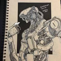 Inktober 2018 #2 - 10/1/18 by WMDiscovery93