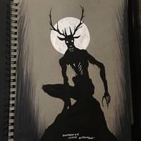 Inktober 2018 #18 - 10/4/18 by WMDiscovery93