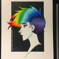 Inktober 2018 #99 - 10/20/18 by WMDiscovery93