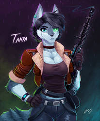Stream Quickpaint - Tanya by WMDiscovery93