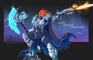 Stream Paint - Captain Verharde by WMDiscovery93