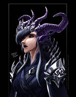 Stream Paint - Daemon Queen by WMDiscovery93