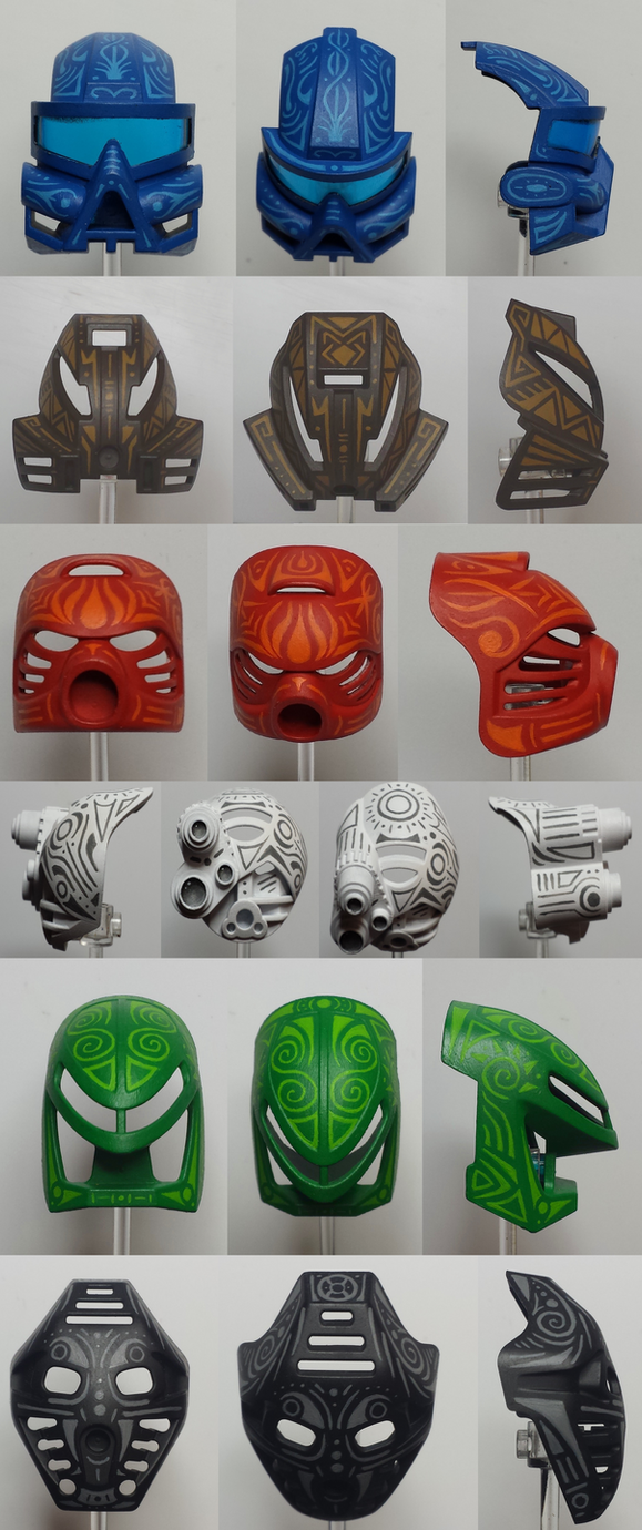 Tribal Collage 3 by MrCod