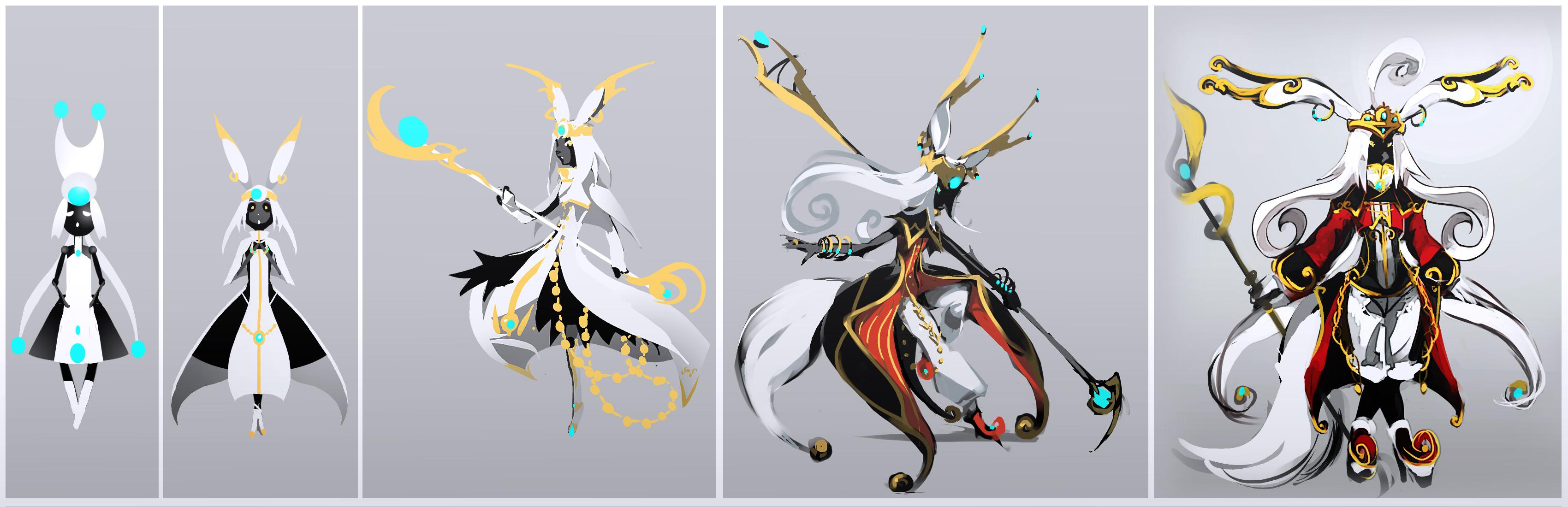 Queen Suzu Concept Sketches