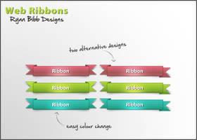Web Ribbons by ryan-bibb