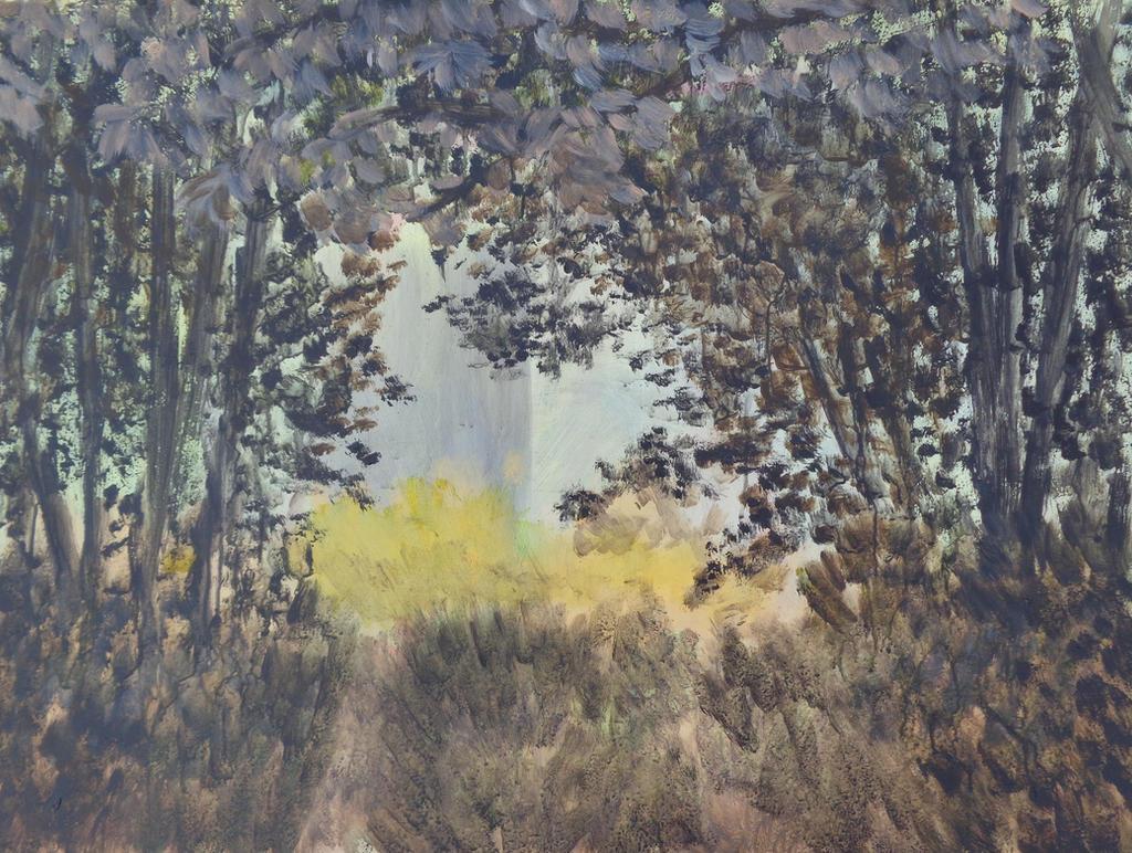 Between The Trees By Jukara On Deviantart