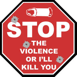 Stop The Violence... by thymeismatter