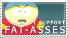 SP Fat Ass Stamp by JLGribble