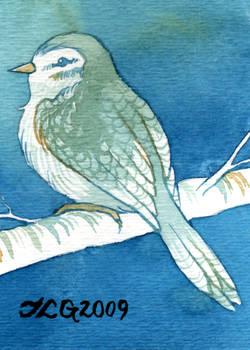 A Little Bird Told Me ATC:ACEO