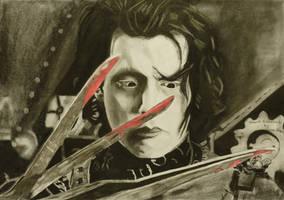 Edward Scissorhands by astrogoth13