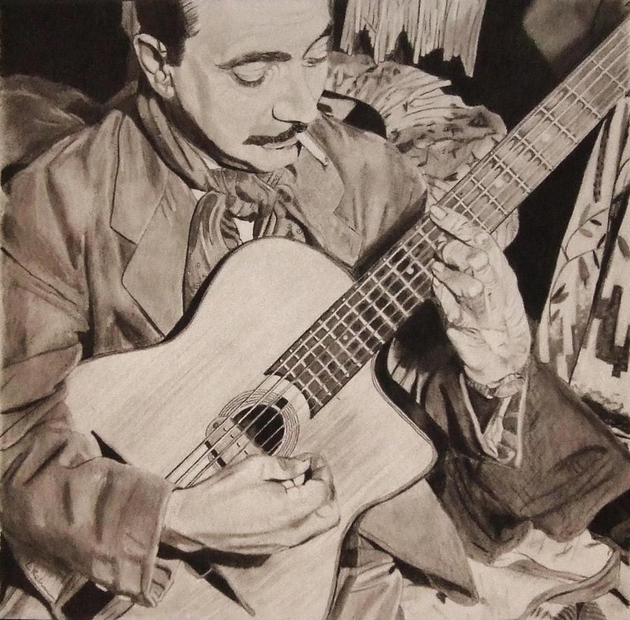 Django Reinhardt by astrogoth13