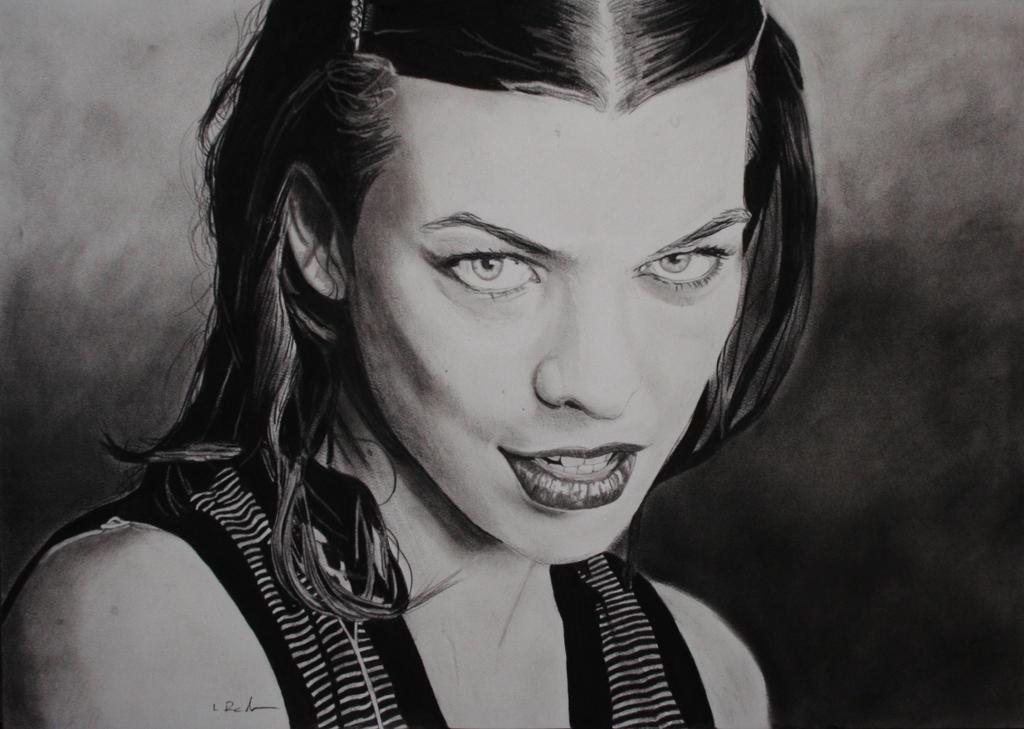 Milla Jovovich by astrogoth13