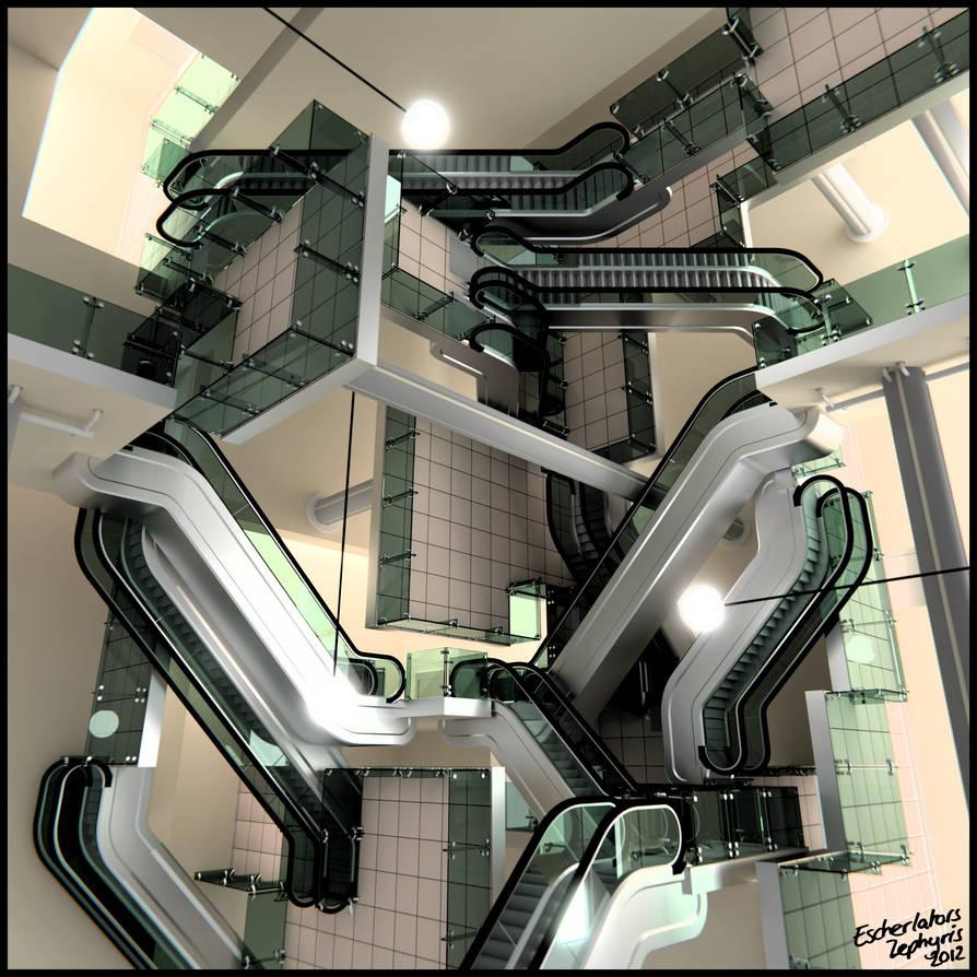 Escherlators