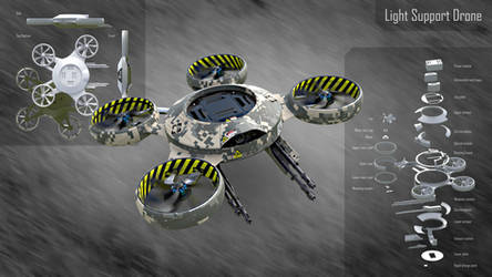 Light Support Drone