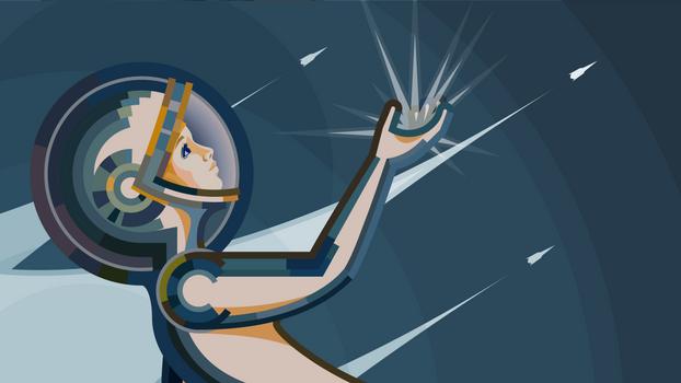 Chernobyl Spacewoman