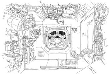Space Station Sketch