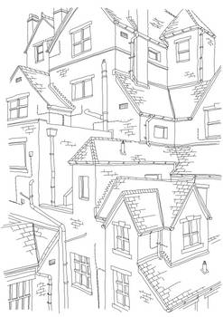 Oxford Architecture Sketch 1