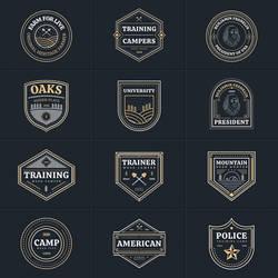 Multipurpose Vector Badges Part 02
