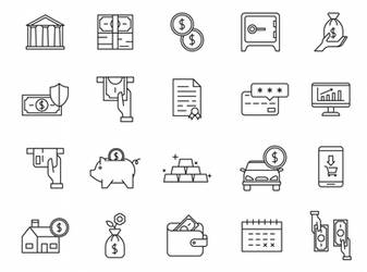 20 Banking Vector Icons