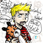 Calvin and Hobbes-my style
