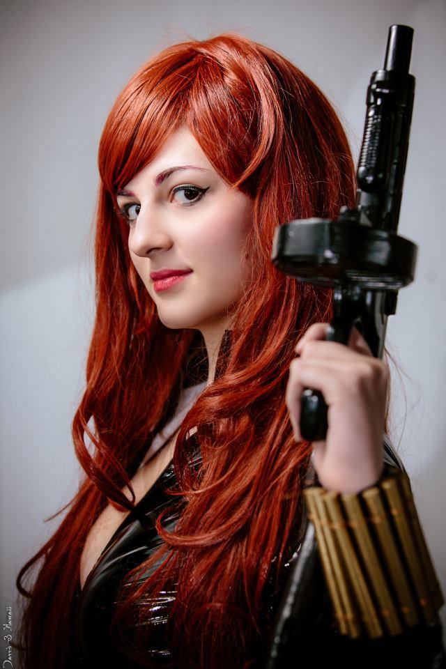 Natasha Romanoff by DianaBlack