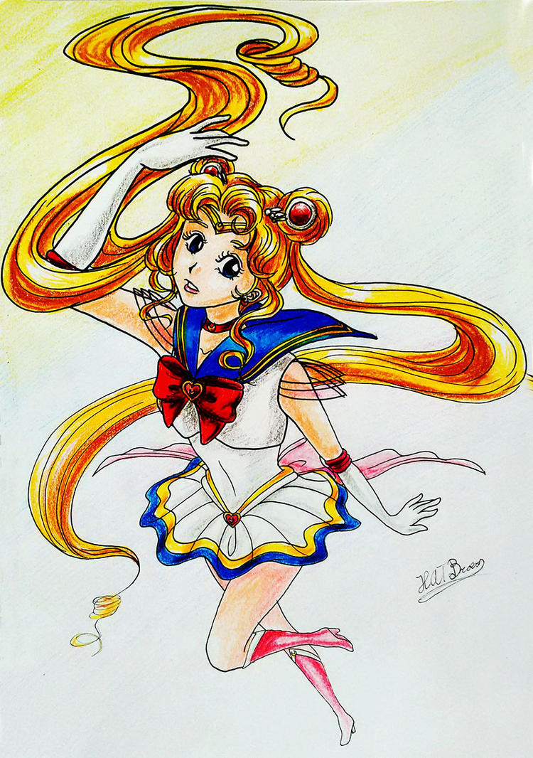 Super Sailor Moon by Kythana