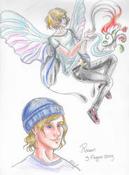 Rowan - a fairy with a hat
