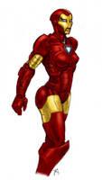 Iron Woman by Osmatar
