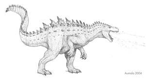 Godzilla redesign by Osmatar