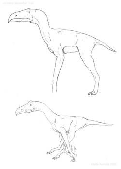 Terrorsaur concept sketches