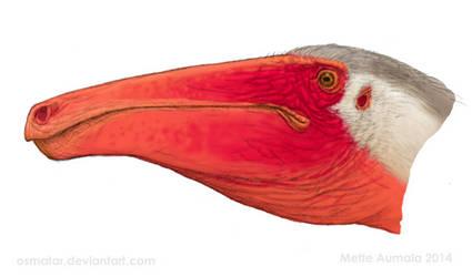 Deinocheirus portrait WIP by Osmatar