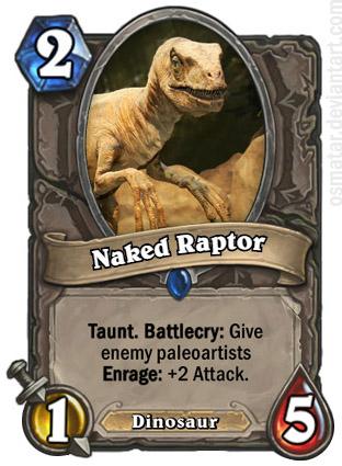 Naked Raptor by Osmatar