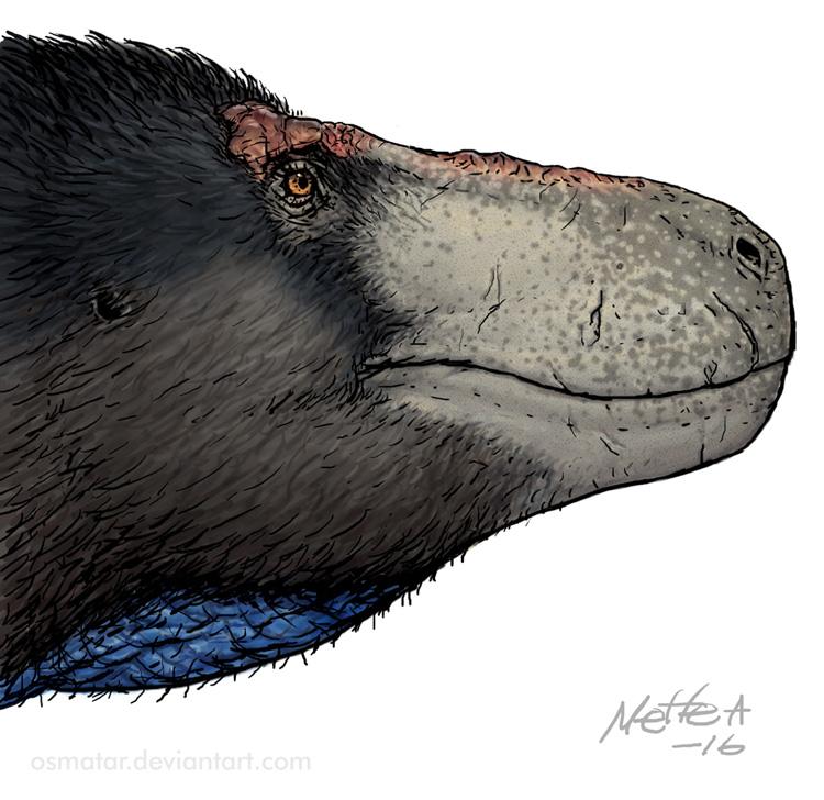 Male Tyrannosaurus rex by Osmatar