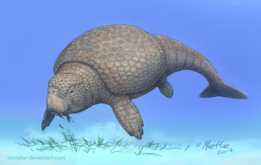 Marine Glyptodont by Osmatar