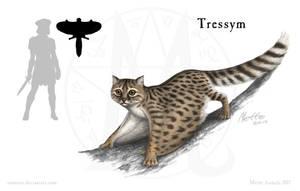 Magestone: Tressym by Osmatar