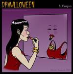 Drawlloween: Vampire