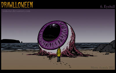 Drawlloween: Eyeball by Osmatar