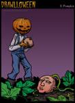 Drawlloween: Pumpkin