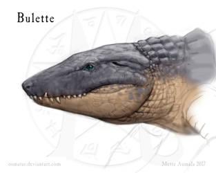 Magestone: Bulette (sketch) by Osmatar