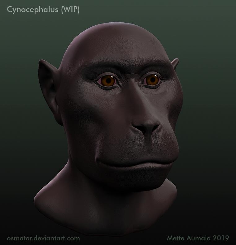 Starstruck: Cynocephalus WIP by Osmatar