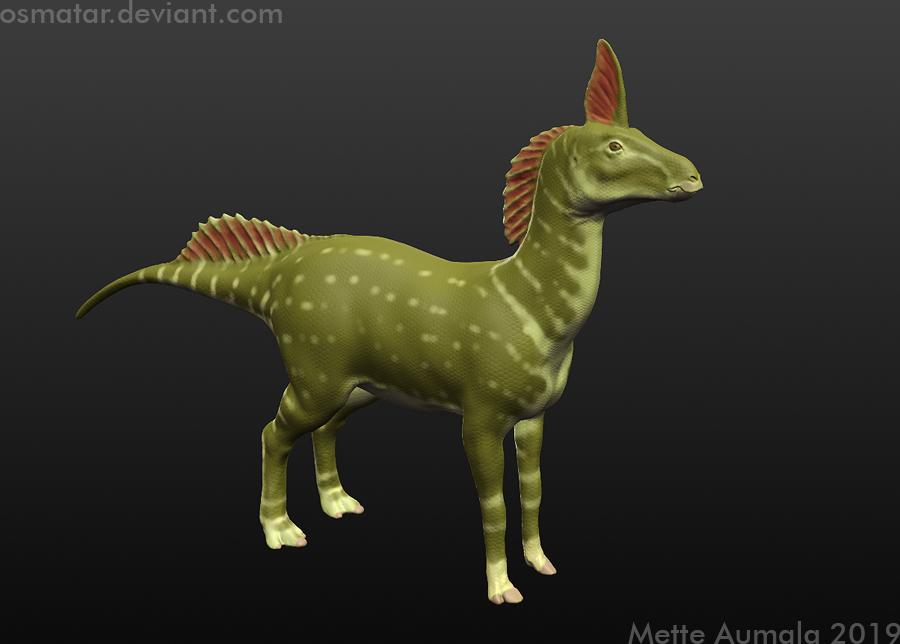 Lizard Horse by Osmatar