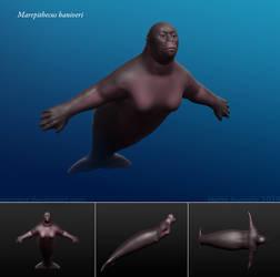 Mermay: The Sea Ape by Osmatar