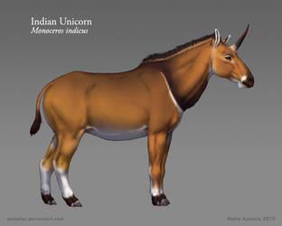 Starstruck: Indian Unicorn by Osmatar