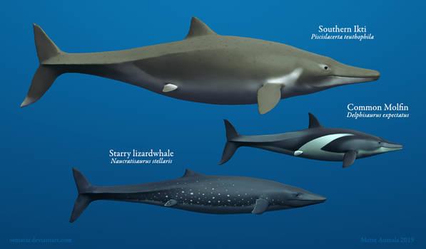 Lizardwhales in Scale